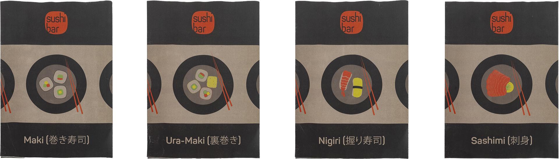 SushiBar Advertising Poster, Werbung Plakat, Sebastian Knöbber